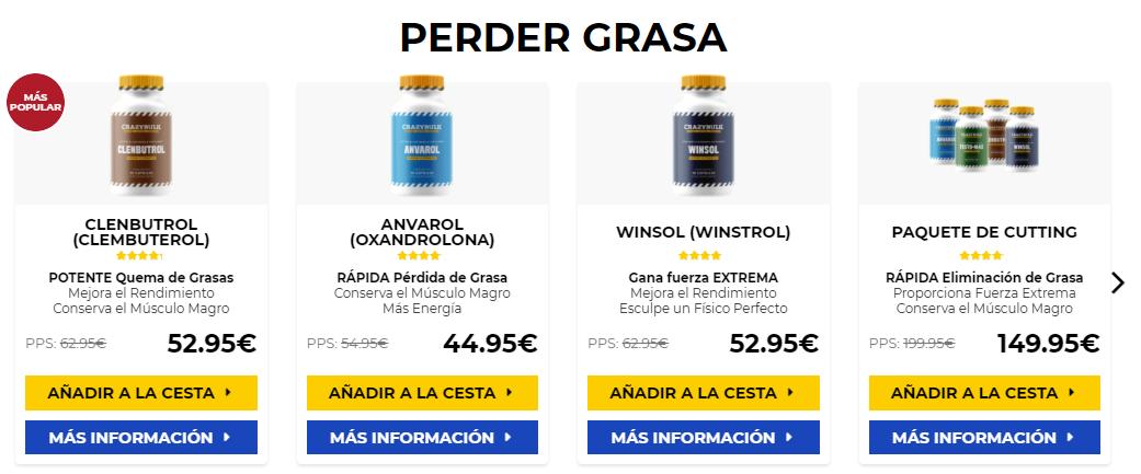 Comprar winstrol pastillas